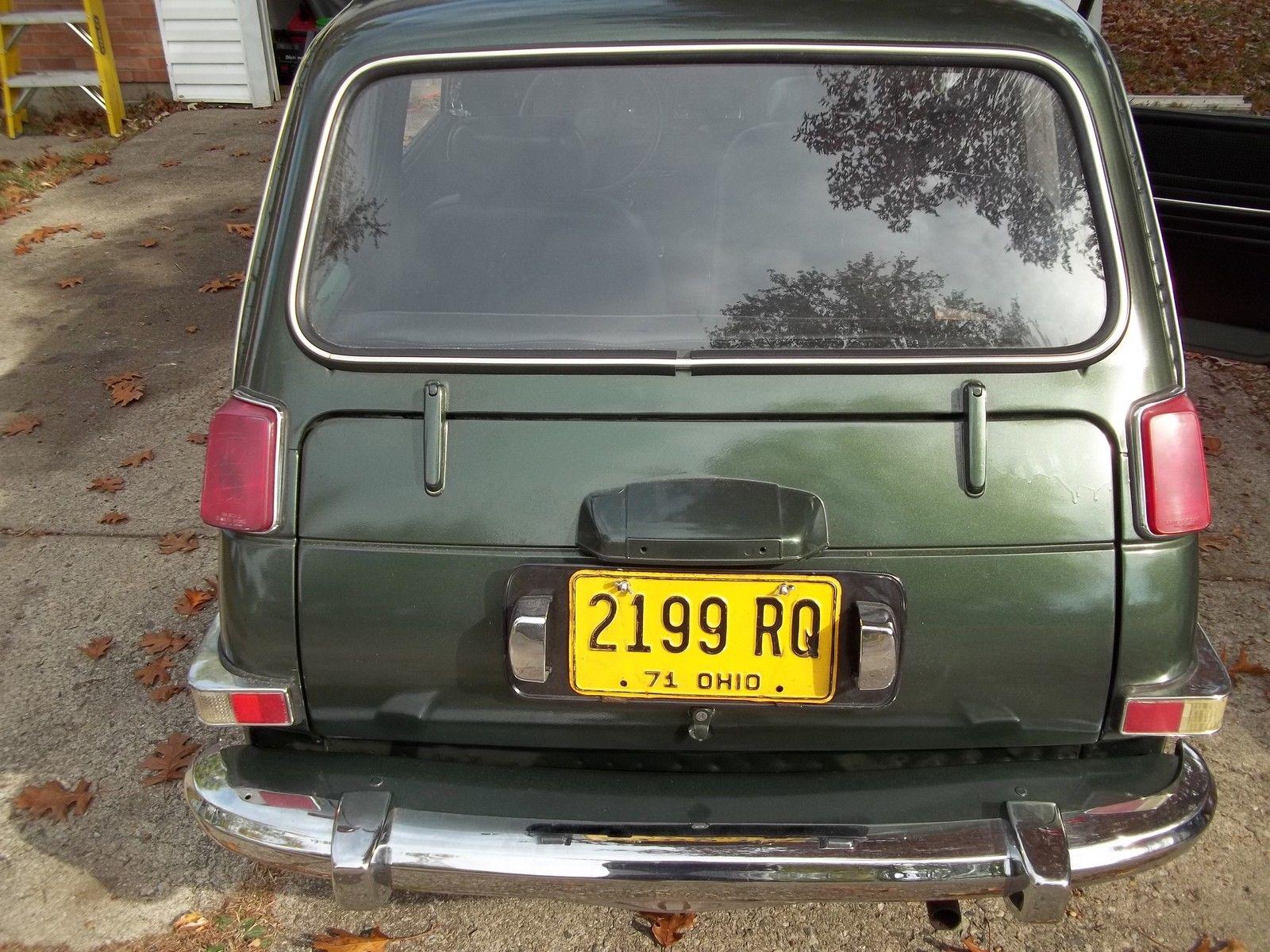 1971 Honda AN600 Sedan Rare Micro Japanese Car - Barn Find