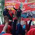Semangat Kader TB Memerahkan CFD Tunjungan