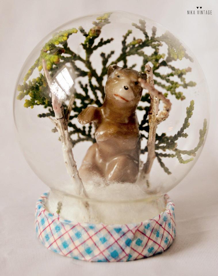 Diy básico con una bola de cristal en el que el protagonista será un pequeño oso