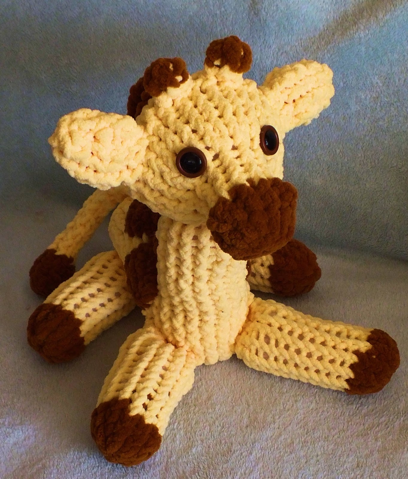 The Loom Muse : How to Loom Knit a Giraffe Pattern