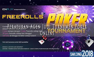 Peraturan Agen Judi Turnamen Poker Online