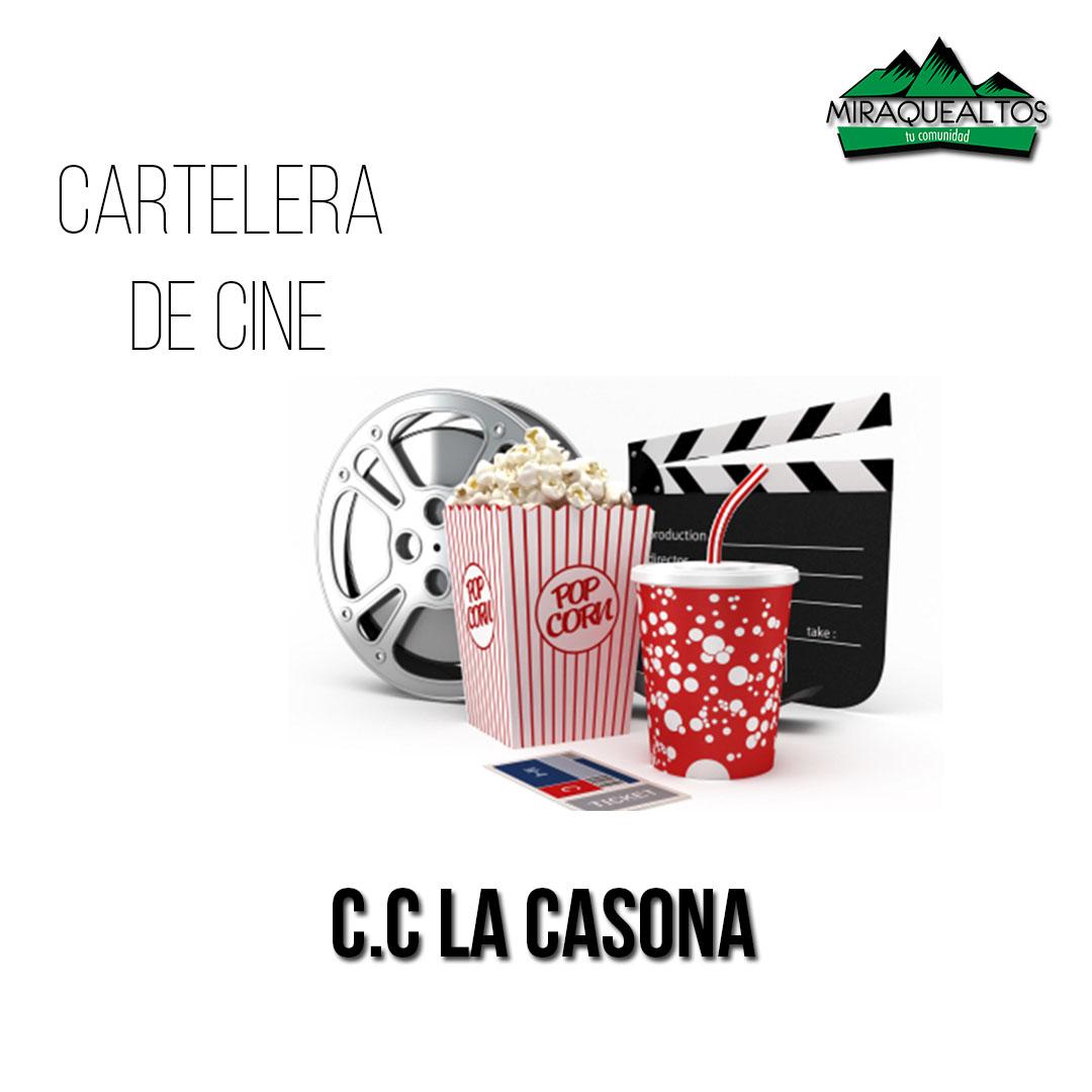 Cartelera de cine viernes 05 05 17 la casona miraquealtos - Cartelera cine de verano aguadulce ...