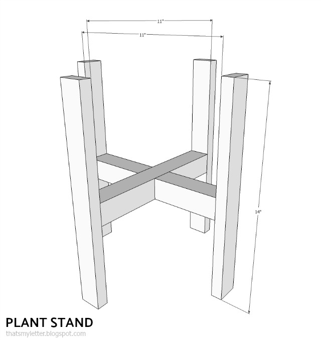 diy plant stand plans