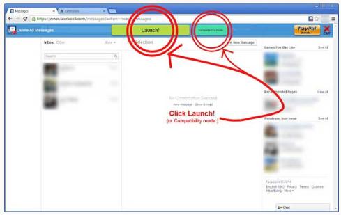 Delete All Facebook Messages