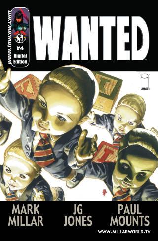 Wanted Comic #4 PDF