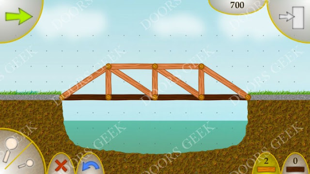 Wood Bridges Free Level 2 Solution (Over The River)