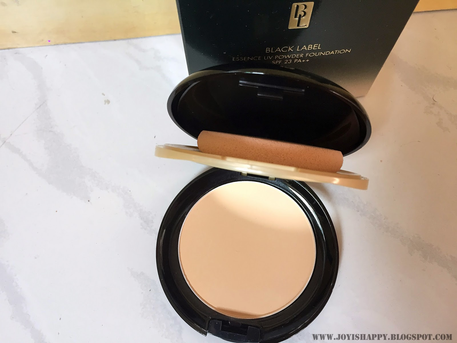 Cyber Colors Black Labelpowder Foundation review