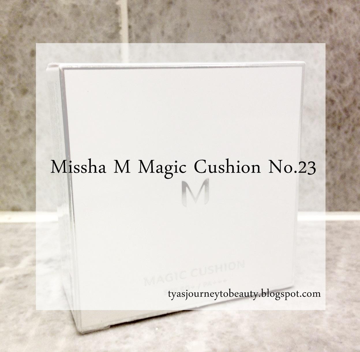 Colors Of Sunset Review Missha M Magic Cushion No 23