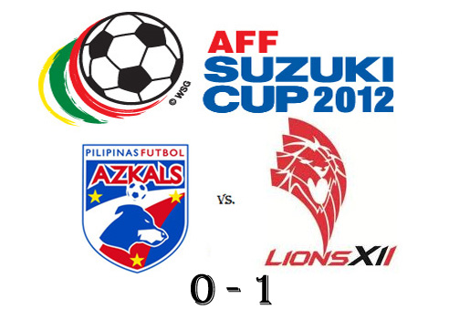 Philippine Azkals lose to Singapore in AFF Suzuki Cup 2012 Semifinals