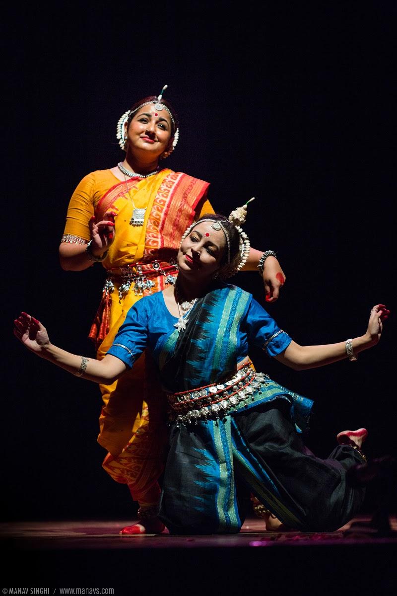 """Srita Kamala"" Odissi Dance by Aastha Gandhi and Soudamini Rao."