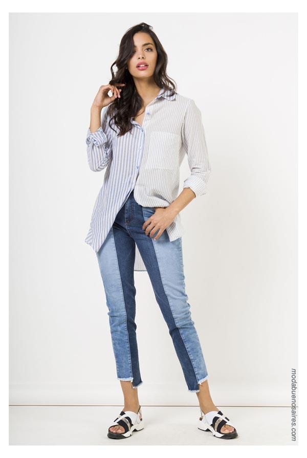 Ropa de moda moda jeans primavera verano 2019.