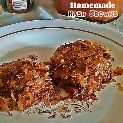 Homemade Hash Browns Recipe @ treatntrick.blogspot.com