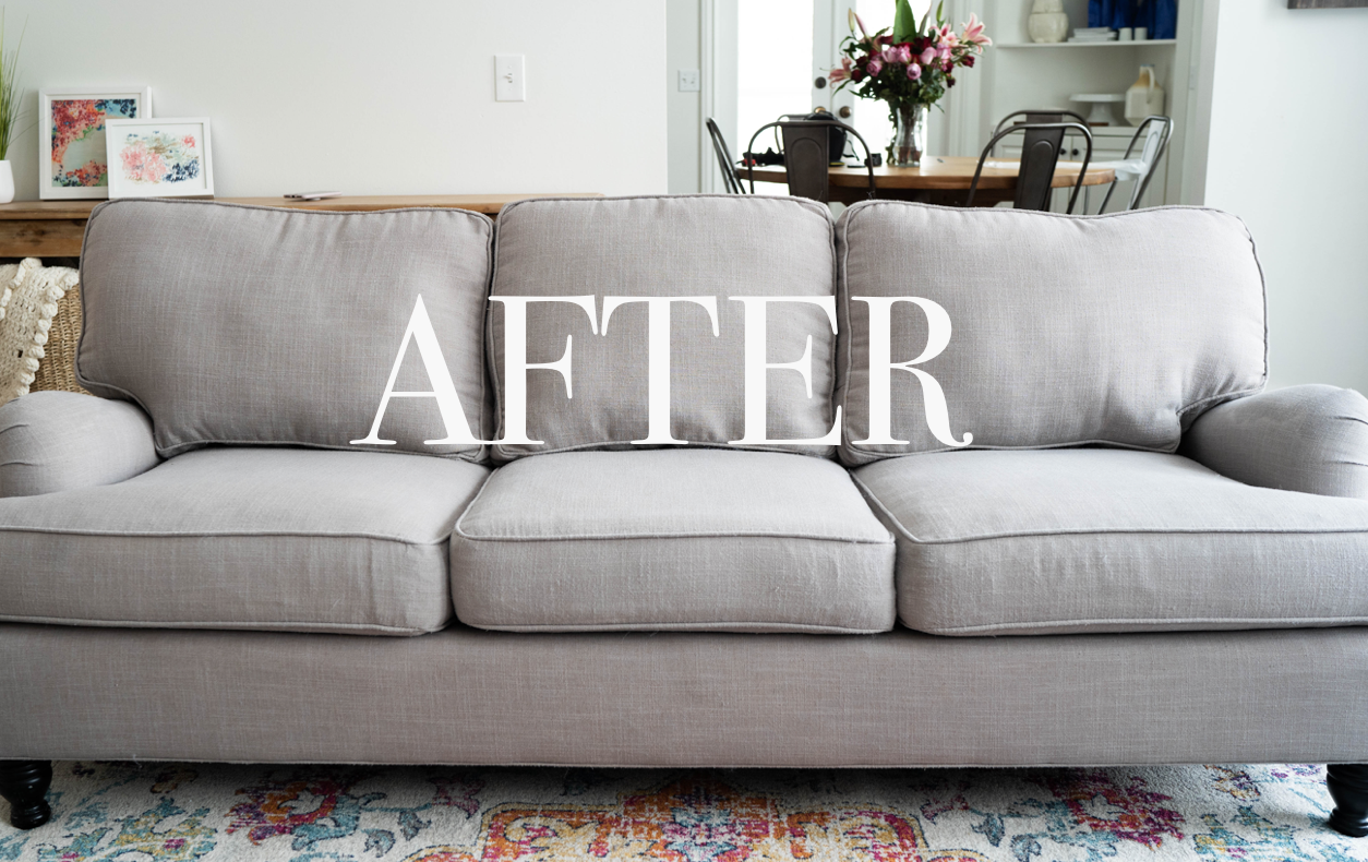 Do It Yourself Divas Diy How To Make An Old Couch Look New