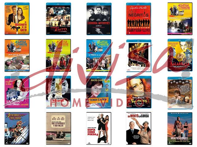 Lanzamientos de marzo en DVD y Blu-ray de Divisa Home Video
