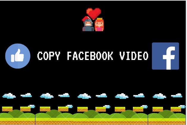 Copy Facebook Video