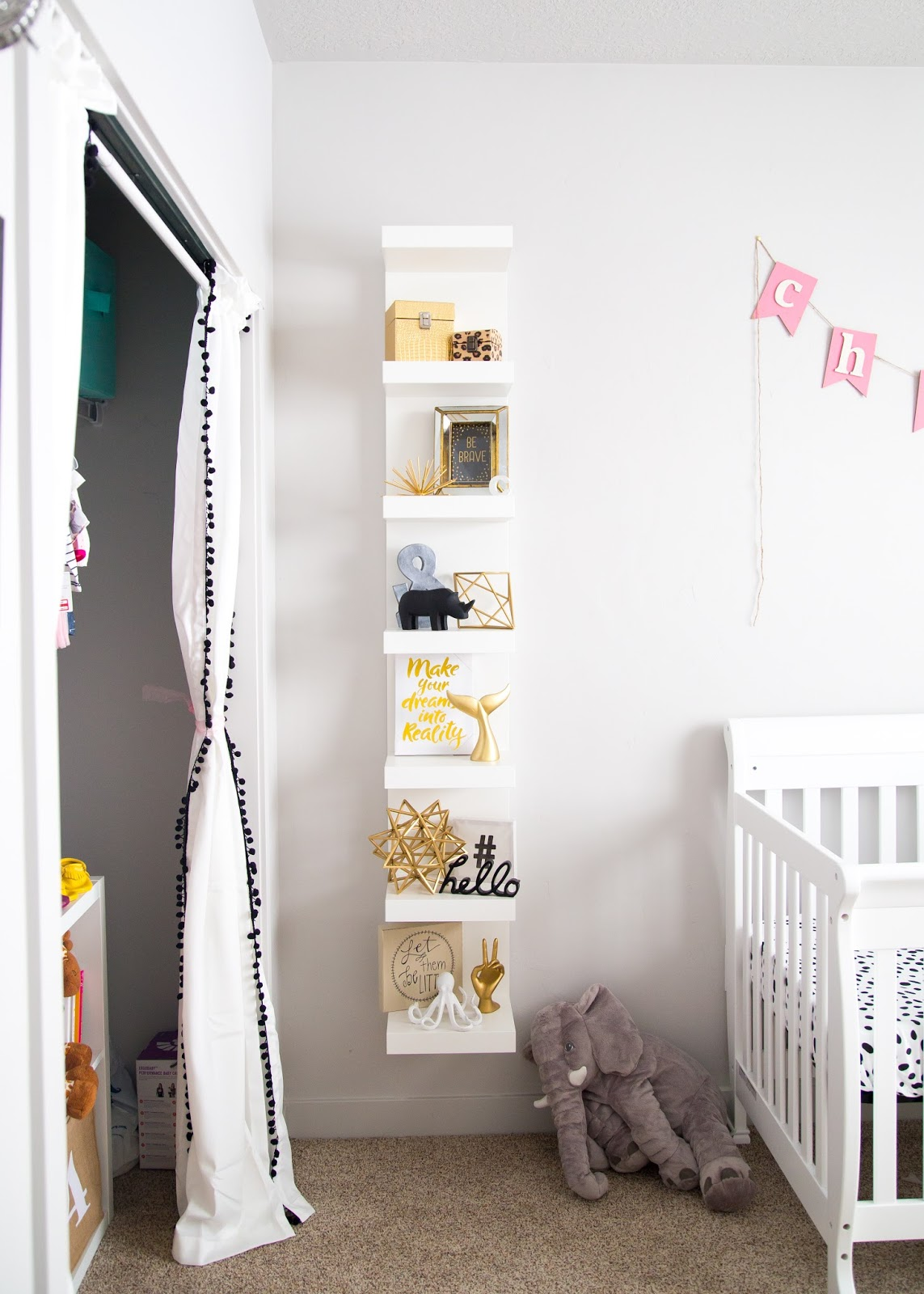 Baby Girl Nursery Decor, Baby Girl Nursery, Girl Nursery Ideas, Gold Decor