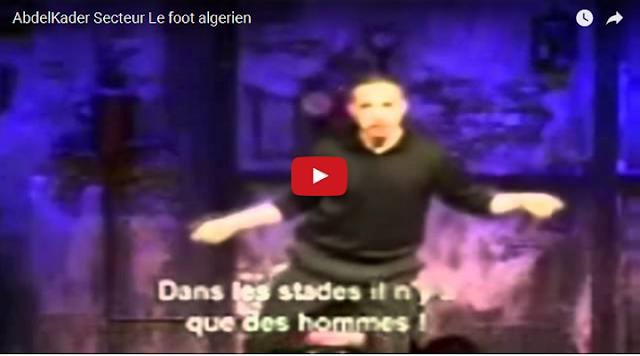 VIDEO. Abdelkader Secteur : Les Stades en Algérie