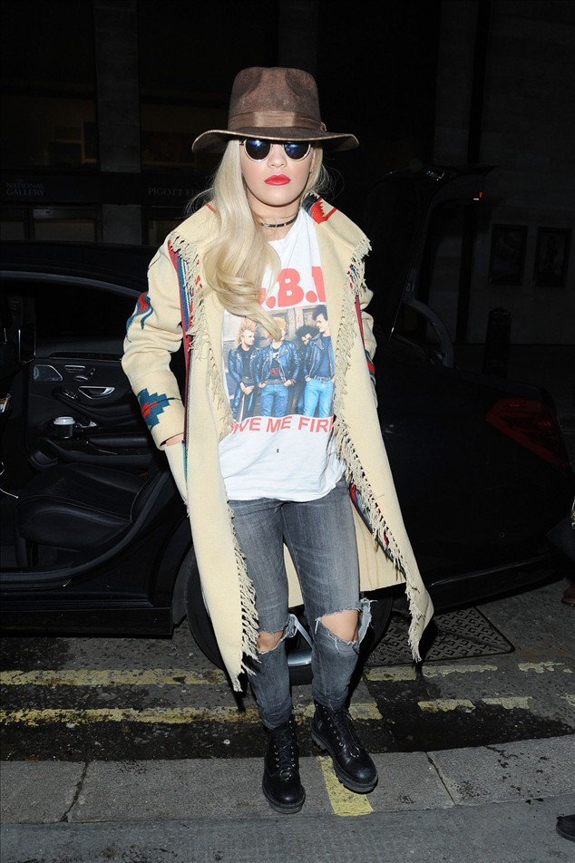 Rita Ora Out In London