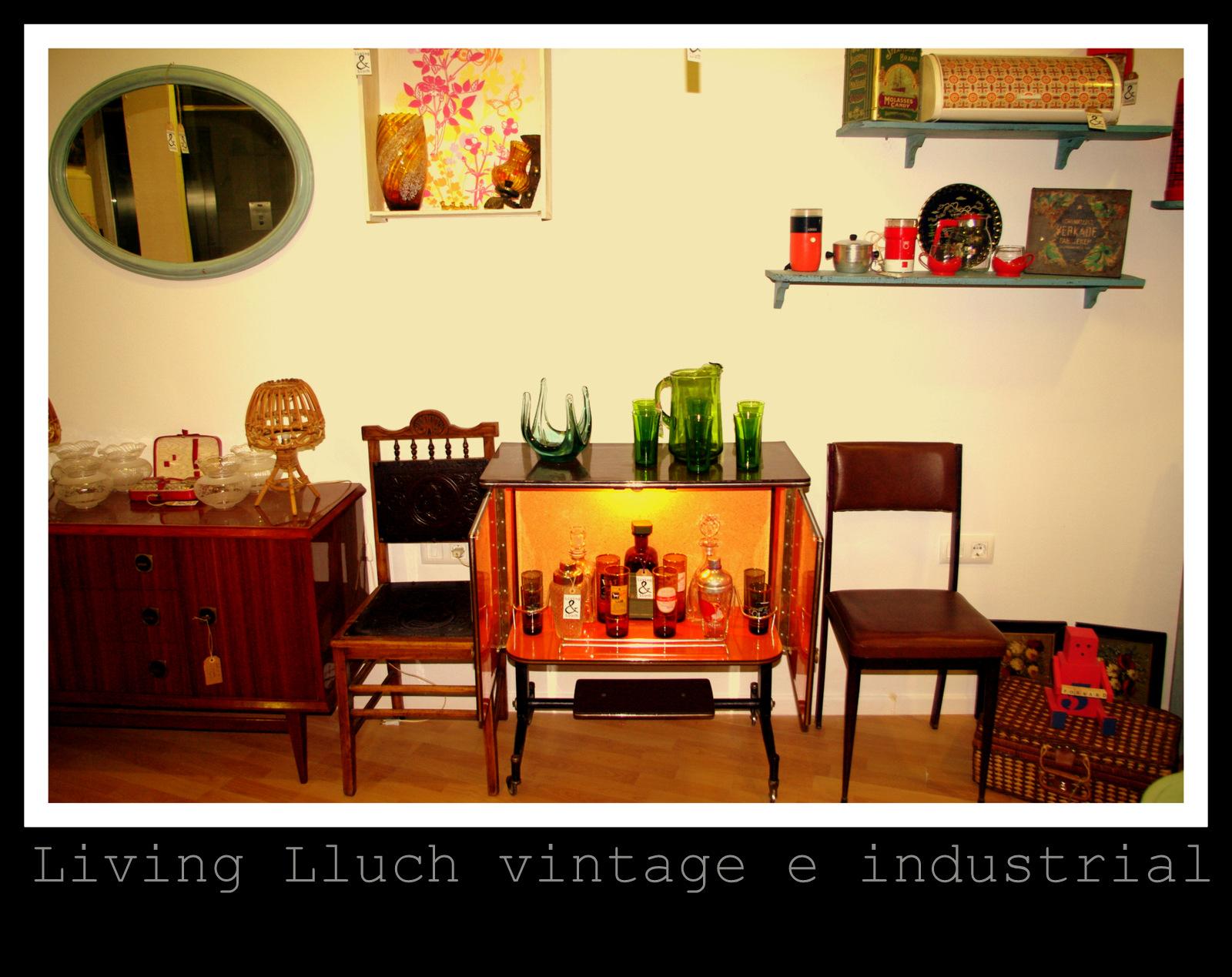 Muebles y objetos vintage reciclado de mobiliario vintage for Reciclado de muebles y objetos