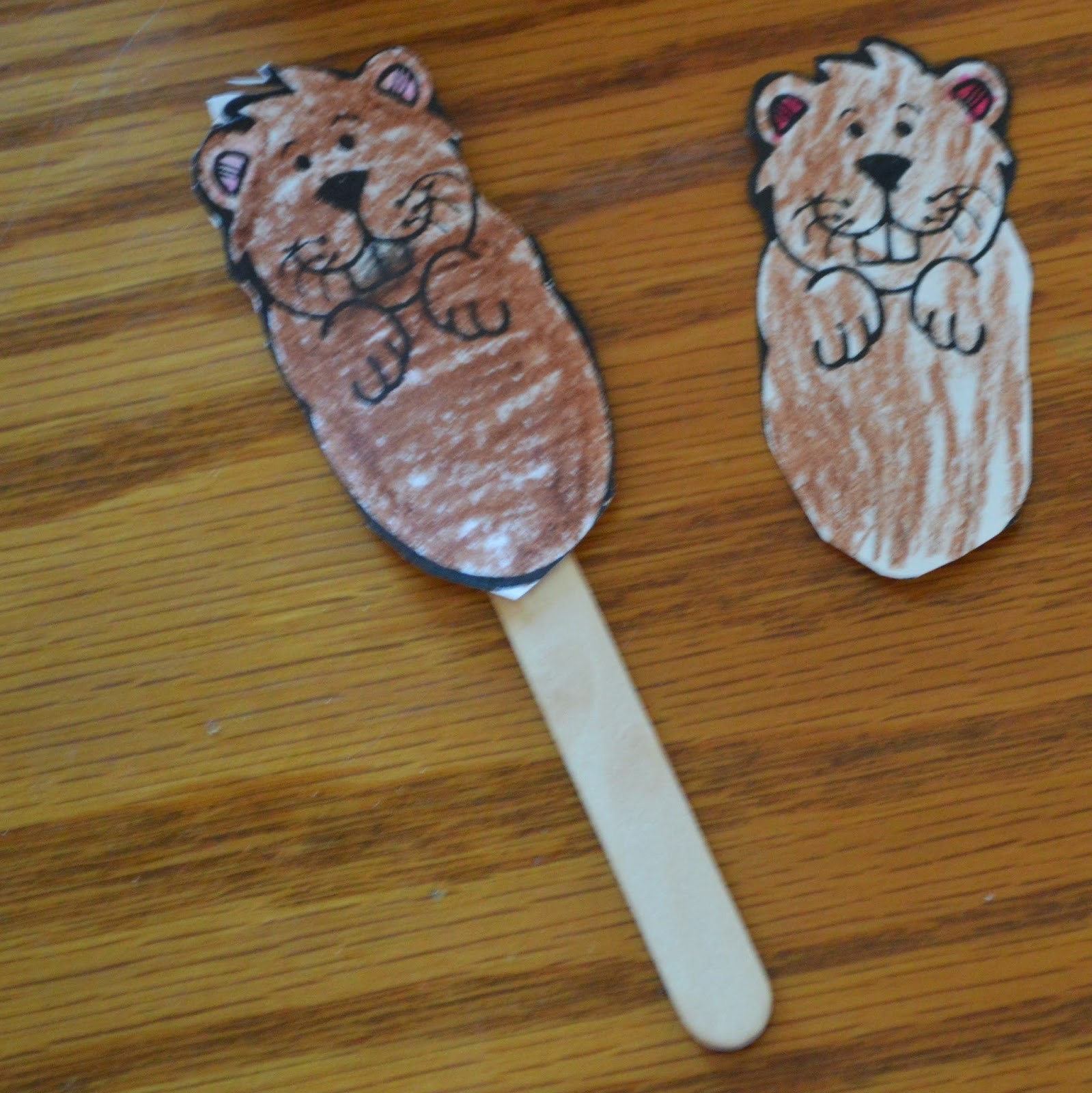 Groundhog Craft @ whatilivefor.net