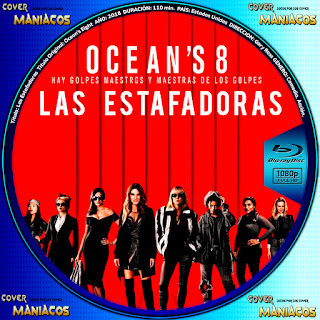GALLETA LAS ESTAFADORAS - OCEAN'S EIGHT - 2018