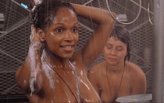 Handjob Starship troopers shower scene