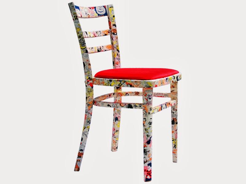 La favola incantata le ultime dal blog for Decorare sedia legno