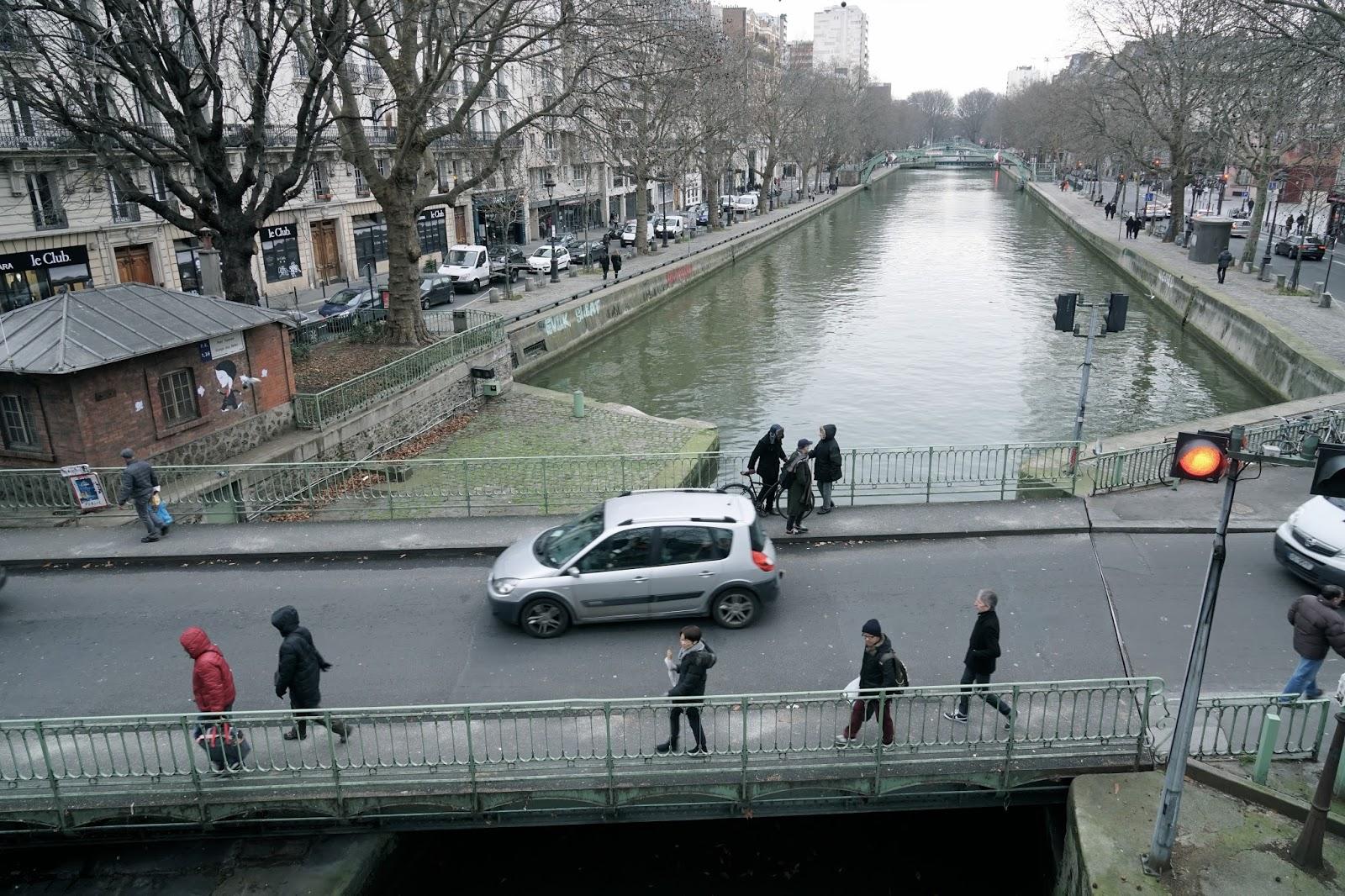 サン・マルタン運河(Canal Saint-Martin)