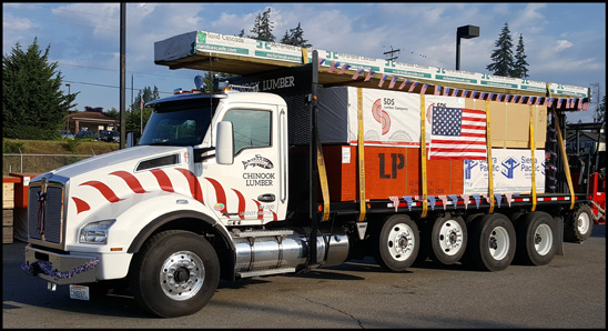 Chinook Lumber Kenworth T880