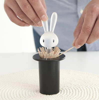 Rabbit Toothpick Holder