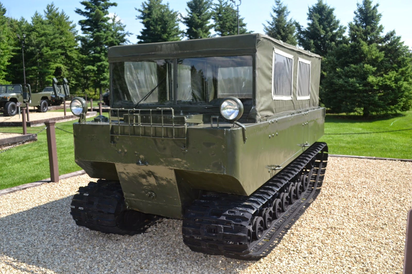 hight resolution of m29 weasel cargo carrier
