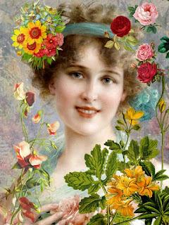 Wallpaper Gambar Ilustrasi Bunga