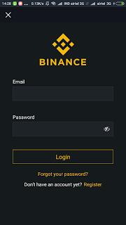 BinanceBinance Ripple Coin Wallet