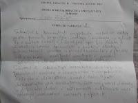 Subiecte gradul II limba romana Galati, august 2015