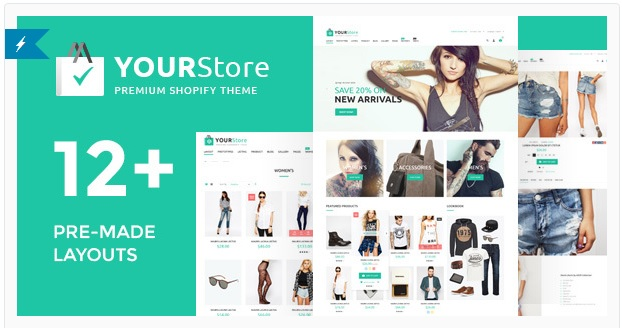 YourStore V1.3.0 - Shopify wordpres theme