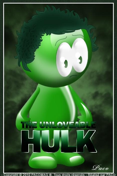 petit bonhomme verts,hulk love'engers
