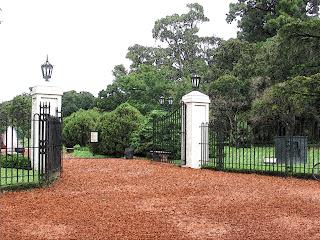 Entrada do Rosedal, no Parque 3 de Febrero, Buenos Aires