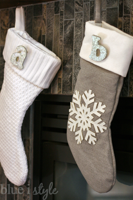 Diy Christmas Stocking Monogram Pins