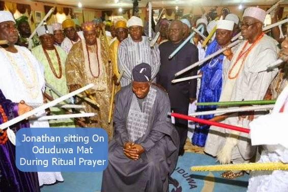 yoruba kings rituals jonathan