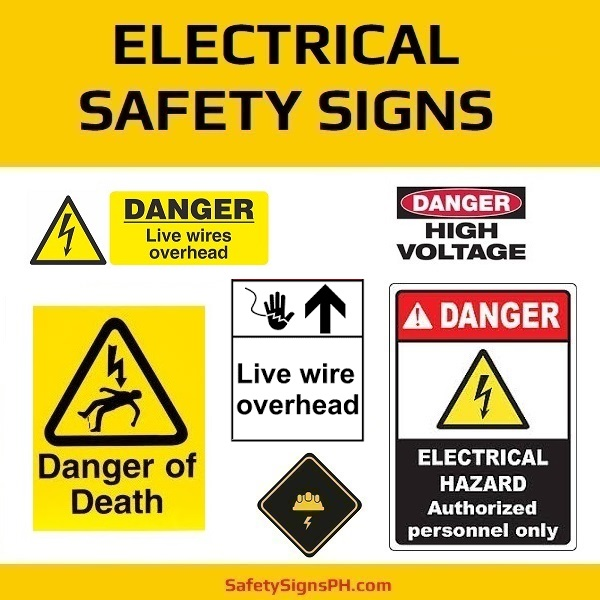 Electrical Safety Signs Philippines