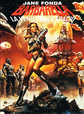 Barbarella. La venus del espacio, Roger Vadim, Jane Fonda
