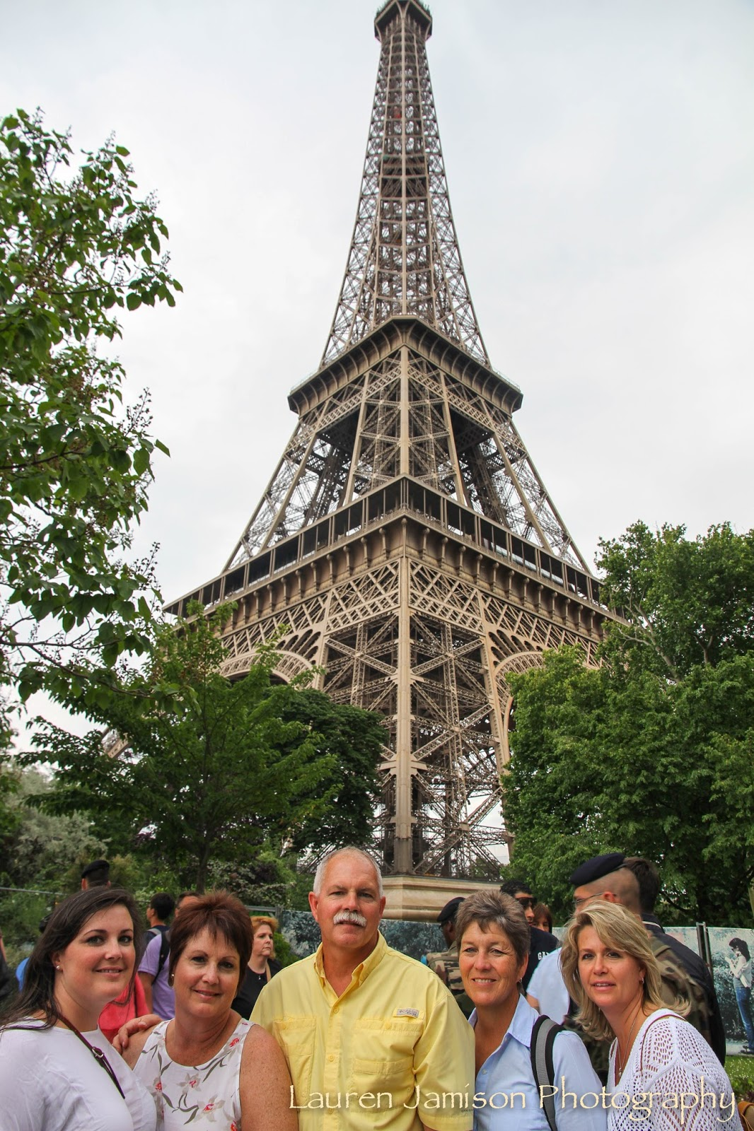 Blunk Family Euro Trip Paris France An Eiffel Tower