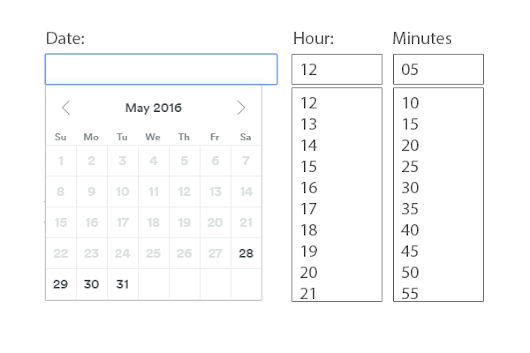 UX patterns for dates