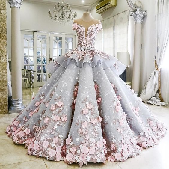 Top 5 Most Beautiful Wedding Dresses Selected From Thousands