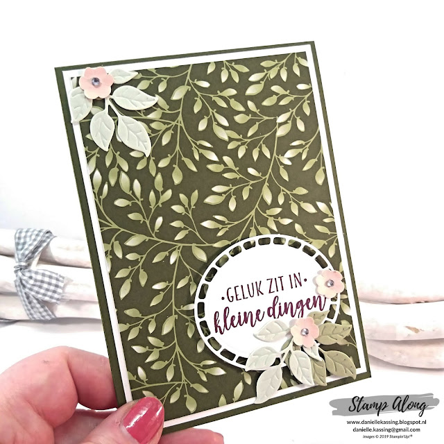 Stampin' Up! Floral Romance Specialty DSP, teamdag Lovely Stampers