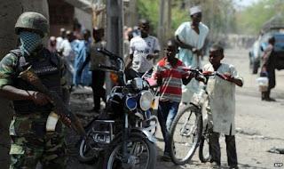 Nigerian military in borno