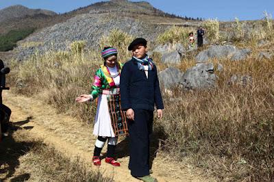 Tìm hiểu tập tục vỗ mông chọn bạn đời của dân tộc Hà Giang