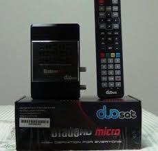Atualizacao do receptor Duosat Blade HD Micro V
