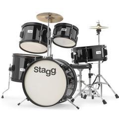 Stagg TIM JR 5/16 5-Piece Junior Drum Set with Cymbals, Throne, Sticks - Open Box
