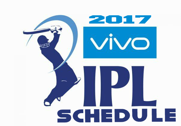 IPL 2017 Schedule, Fixture,Date, Time and venue